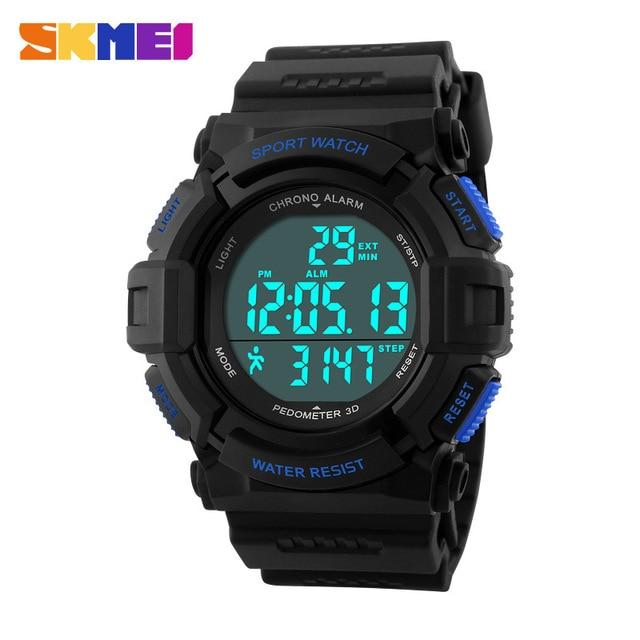 Top Brand Mens Sports Watches LED Digital Watch Fashion Outdoor Waterproof Women's Wristwatches Reloj Hombre Erkek Kol Saati