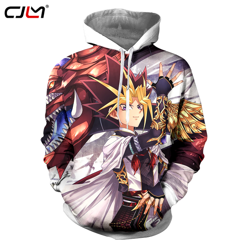 Hoodies & Sweatshirts Nice Latest Funny Cartoon Yu Gi Oh Fashion 3d Hoodies Pullovers Men Women Hoodie Hoody Tops Long Sleeve 3d Hooded Sweatshirts Clothes Pretty And Colorful