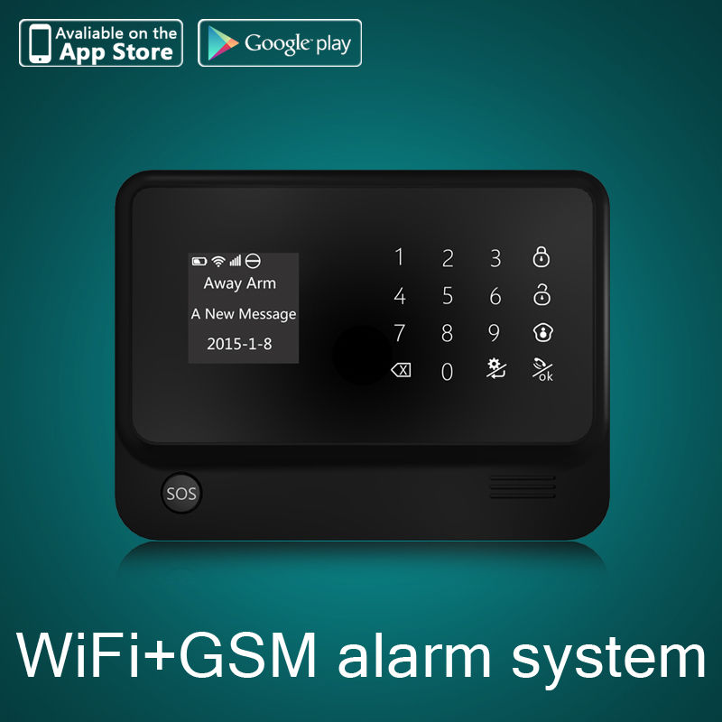 Safurance G90B PLUS WiFi GSM Wireless Home Intruder Burglar Alarm Security System HOT Alarm Mainframe Kits wireless smoke fire detector for wireless for touch keypad panel wifi gsm home security burglar voice alarm system