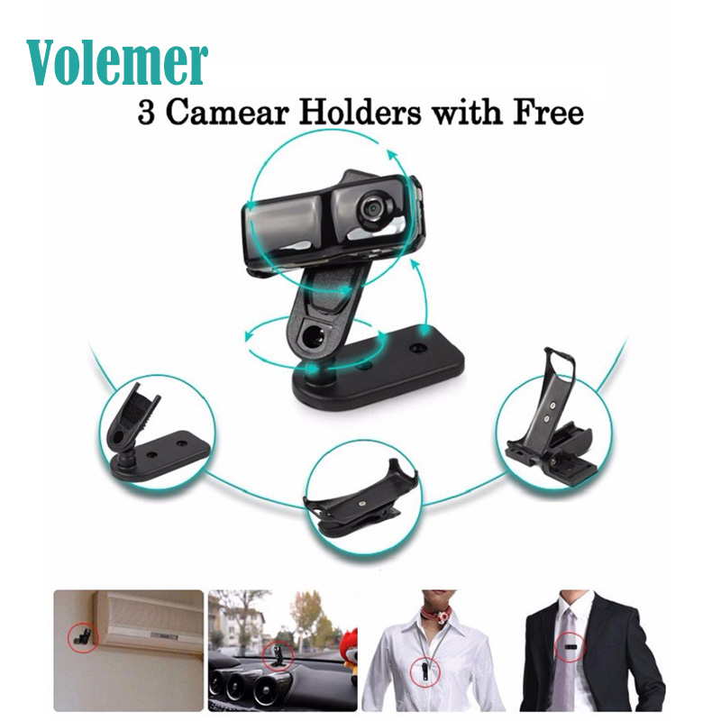 Volemer MD81 MD81S P2P Mini Camera Wifi Motion Detection DVR Camcorder Sport Video Recorder IP Cam for Windows iOS Android
