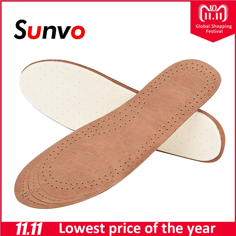 Sunvo Sheepskin Children Insoles fot Kid Sport Breathable Deodorant Absorb Sweat Health Care Insole Cushion Shoes Pads Inserts