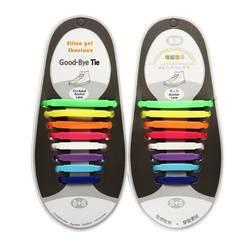 16 шт./пакет мягкий силиконовый шнурки для ленивых одноразовый цвет ful зеленый красный 5 цветов мягкие пластиковые шнурки для мужчин