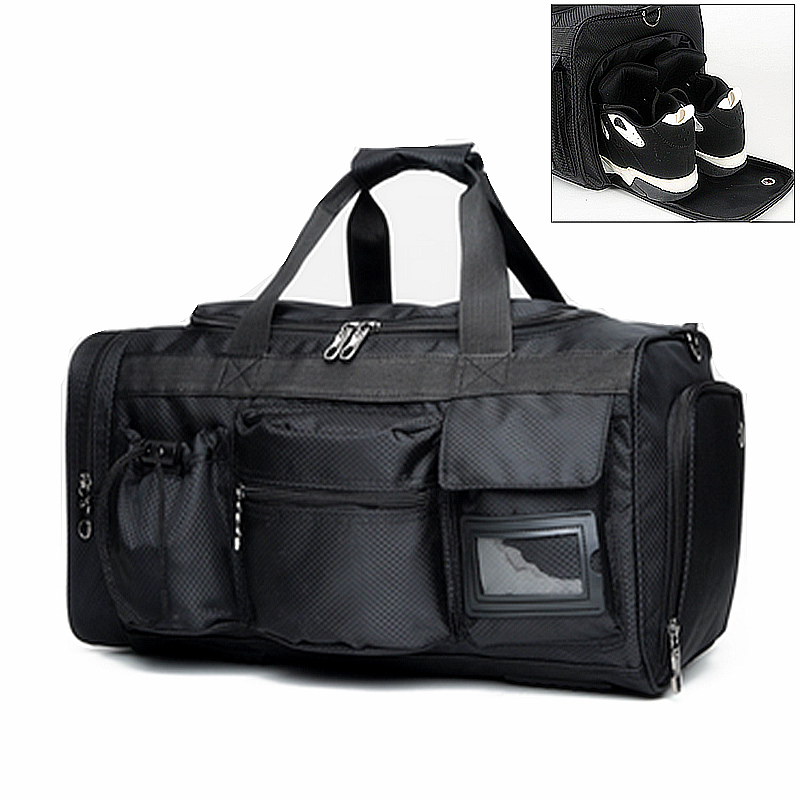 Aliexpress Men Warterproof Nylon Sports Gym Bag Cool Fitness Shoulder Bags Multifunctional Women Yoga Handbag With Independant Shoes Layer From