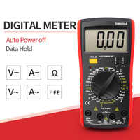 9205a Multimètre AC Multimètre numérique Testeur professionnel Mesure de capacité Voltmètre Affichage LCD numérique 1999 Compte-mètre