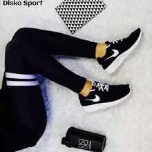 Legins 2017, женская обувь новый принт Легинсы Горячая тренировки брюки спандекс леггинсы черные леггинсы с принтом Фитнес Легинсы