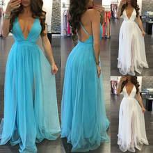 Женское винтажное кружевное длинное платье макси летнее вечернее