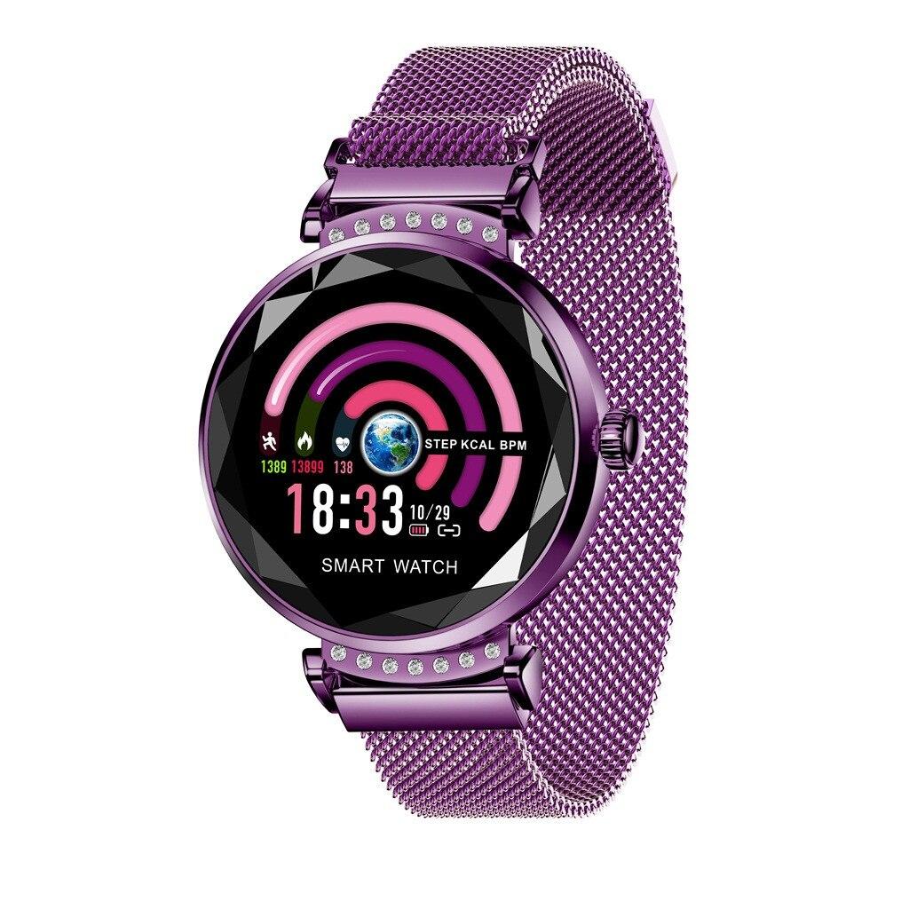 Femmes Sport montre intelligente rappel femme mode horloge montres intelligentes calories femme Top marque Smartwatch H2