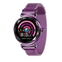Women Sport Smart Watch Reminder Woman's Fashion Clock Smart Watches Calorie Female Top Brand Smartwatch H2