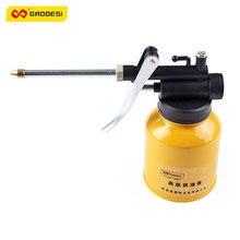 Кормили grease масленка насоса смазки шланг масла металлические давления трубки машина