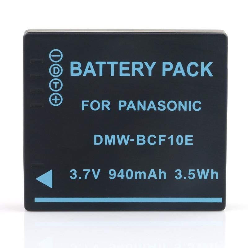 LANFULANG Li-Ion Rechargeable Battery For Panasonic Lumix CGA-S106B CGA-S/106C CGA-S/106D CGA-S/106B DE-A59B DE-A60A DE-A60B