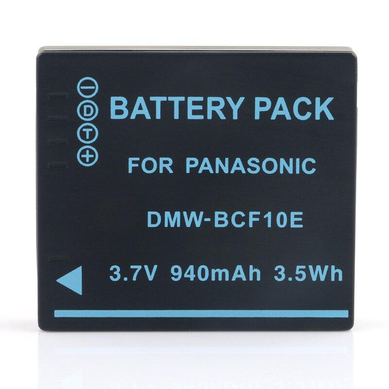 LANFULANG Li-Ion Batterie Rechargeable Pour Panasonic Lumix CGA-S106B CGA-S/106C CGA-S/106D CGA-S/106B DE-A59B DE-A60A DE-A60B