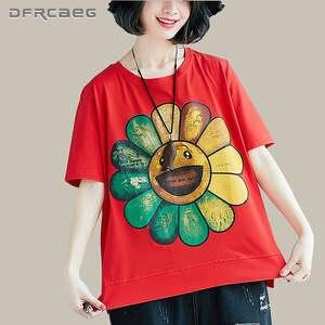 DFRCAEG Summer Top 2018 Harajuku Tshirt Female Tee Shirt 932c7d9354554