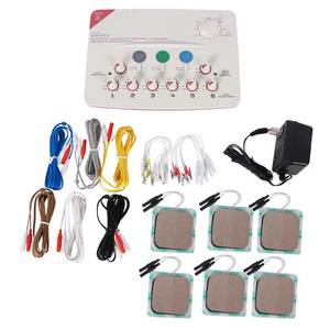 Image 1 - CFDA 6 Output channel 110 220V TENS massager machine Health multi functional body relax acupuncture stimulation foot massage