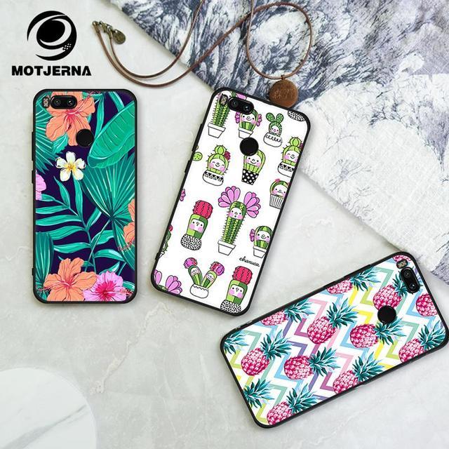 Phone Bag Case For Xiaomi Mi A1 A2 Lite Redmi 5 Plus 5A 4X 6 Pro 6A Note 5 Pro 5A 4 4X Pattern Soft TPU Silicone Back Cover Case