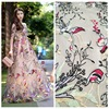 52 In The Summer Of 2017 High End Women S Fabric Yarn Embroidery Multicolor Polyester Embroidery