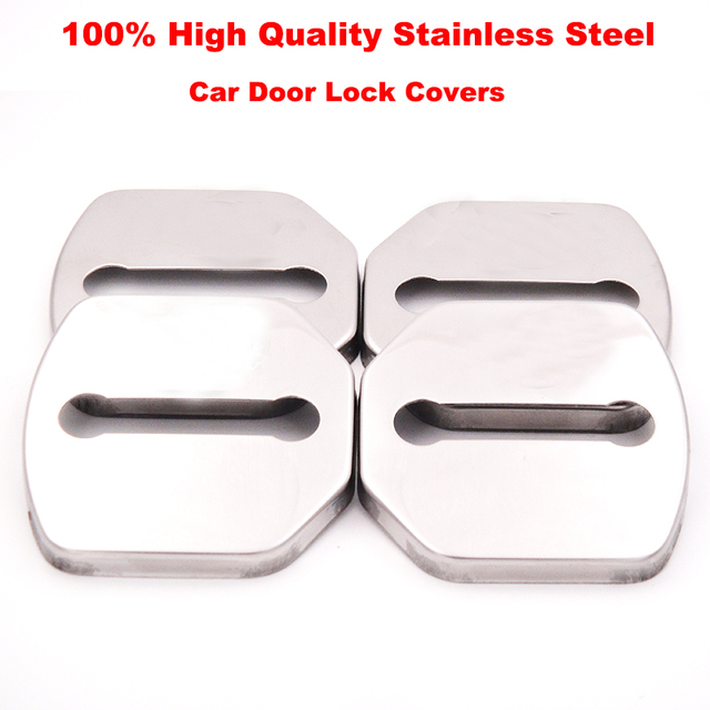Buy 4pcs Lot Car Styling Stainless Steel Car