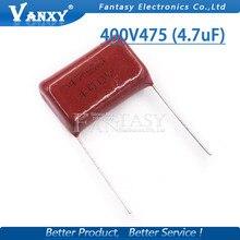 5PCS 400V475 400V 475 4.7UF  Polypropylene film capacitor pitch 25mm