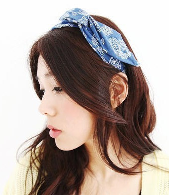 F61306 peppers vivi unique pattern rabbit ears hair band hair bands
