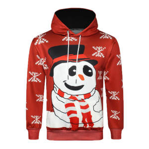 Tops Sweatershirt Christmas-Print Winter Casual Fashion Men 3D 3L60 Main-Product Sunfree