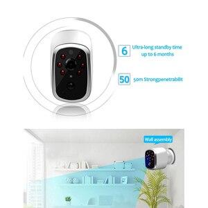 Image 2 - HD 720P kablosuz ip kamera su geçirmez şarj edilebilir pil Powered CCTV Wifi kamera akıllı ev mobil görünüm PIR Alarm bebek izleme monitörü
