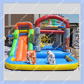 Hot Sale Inflatable Bounce House Slide Pool Obstacle 4 in 1 Combo Commercial Quality Toy