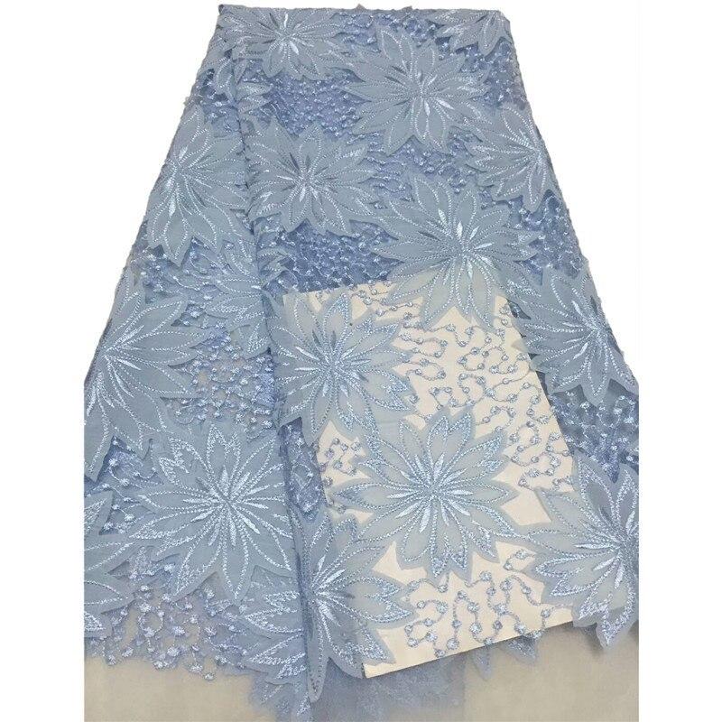 Nouveauté haute qualité brodé grande couleur pure fleurs Net dentelle CD1, bon prix et livraison gratuite africain Tulle dentelle tissu