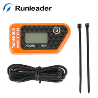 Digital Hour Meter Tachometer For Outboard Motor Lawn Mower Motocross KTM