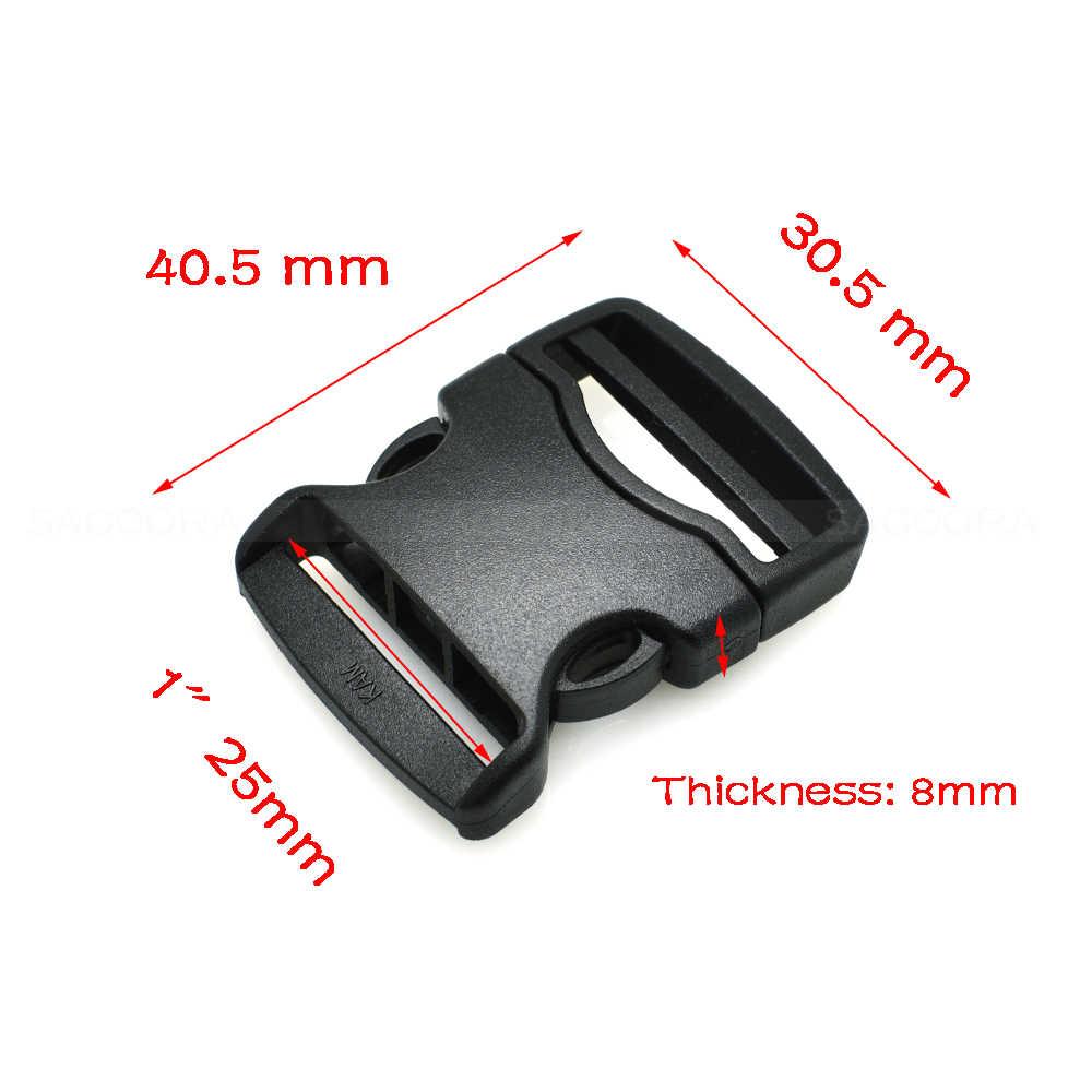 20mm 25mm 32mm 38mm 50mm Singels Detach Gesp voor Outdoor Sport Tassen Studenten Tassen Bagage reizen gesp accessoires