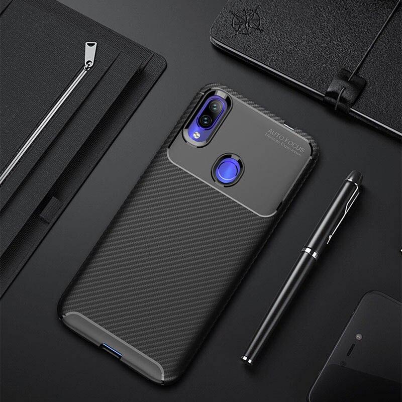 Чехол для телефона для Xiaomi Redmi Note 7 Чехол Мягкий силиконовый ударопрочный полное заднее покрытие для Xiaomi Redmi 7 Чехол для мобильного телефона ...