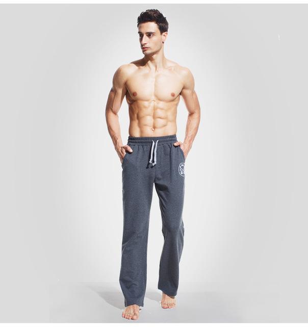 XUBA hombres pantalones largos pantalones de Algodón Ultra suave cómodo pantalones del salón