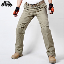 TAD IX9 Militar Tactical Cargo Outdoor Pants Men Combat SWAT Army Training Military Pants Cotton Hunting Outdoors Sport Trousers