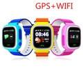 Q90 sos gps smart watch relógio com wifi tela sensível ao toque do bebê Local chamada DeviceTracker para Criança Seguro Anti-Perdido Do Monitor PK Q80 Q60