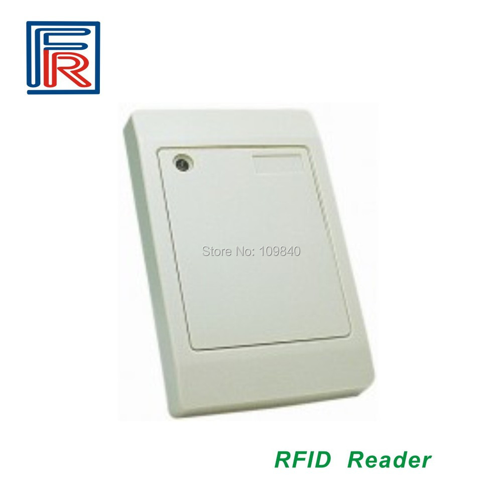 125khz rfid proximity EM card reader with WG26 output for access control turck proximity switch bi2 g12sk an6x