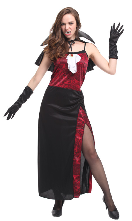 <font><b>Halloween</b></font> <font><b>Sexy</b></font> Adult Women <font><b>Vampire</b></font> <font><b>Costumes</b></font> Victorian Dresses Fancy Party Dress Witch Female <font><b>Costumes</b></font> Zombie Uniforms image