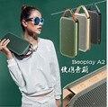 Дания Марка B & O БО Beoplay А2 Беспроводная Bluetooth-динамики Кожаный Ремешок Высокое Качество Мода Портативный Динамик HI-FI Звук