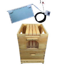Smart automatic honey flow hive for honey hive flow honeycomb 4 frames Add One intelligent physical acaricidal instrument Kits