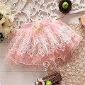 Princesa Verano de los Bebés Floral Tutu Pettiskirt Mini Falda Corta Caliente y de Moda del vestido de Bola