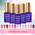15ML Fashion Color UV Gel Long Lasting Orange Color Nail Gel Polish Nail Art Salon Nail Polish Use Base Coat Gelpolish