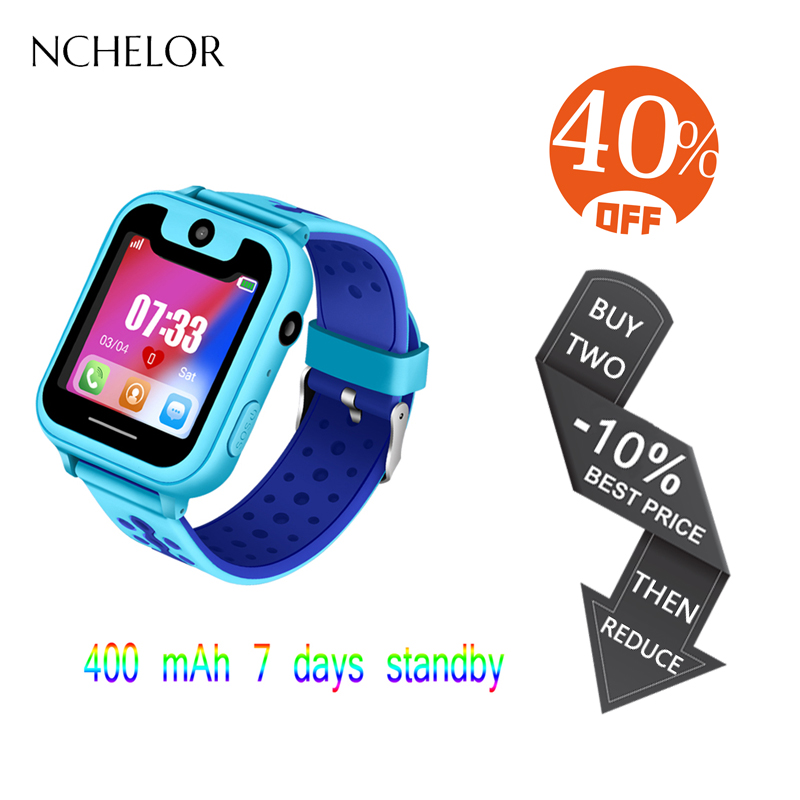 2018 New GPS Mobile Phone Positioning Fashion Children's Smart Watch 1.54 Inch Color Touch Screen SOS Calling for Kids Safety 2018 new arrival q90 gps phone positioning fashion children watch 1 22 inch color touch screen wifi sos smart watch