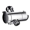 3-way Diverter Shower Tee Adapter ABS Multi Function three Way Shower Head Diverter Valve bathroom shower accessories