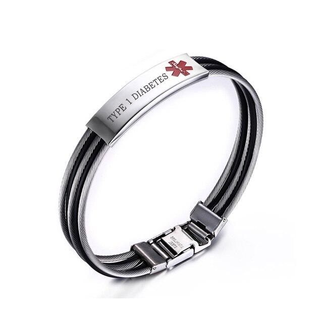 Medical Alert ID Bracelet...