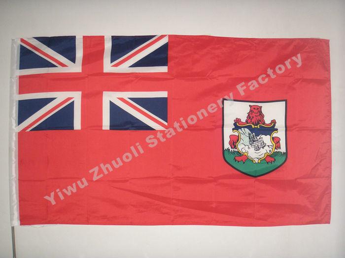 Vlajka Bermudy 150x90cm (3x5FT) 115g 100D polyesterová šitá vysoce kvalitní doprava zdarma