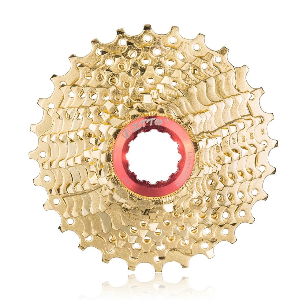 ZTTO 11 Speed 11 28T Highway Vehicle Grade 10 Card Flywheel Folding Small Wheel Bicycle Rear Teeth Bicycle durable Sprocket