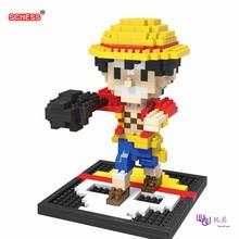 SC: ONE PIECE (OP) Luffy 1048 Diamond Micro Nano Building Blocks Action Figure boy & girl gifts