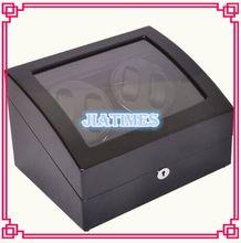 Nuevo Enrollador De Reloj Automático 4 Relojes de Lujo Al Por Mayor Negro y Almacenamiento 6 Reloj Cronómetro Reloj