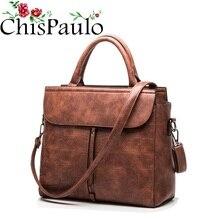 CHISPAULO Designer Handbags High Quality Cowhide Women Genuine Leather Handbags Patent Tassel Fashion Women Messenger Bags X68