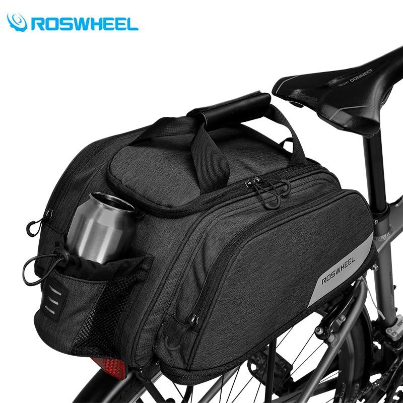 11L Multifunction Bicycle Bag Mountain Road Bike Cycling Rear Seat Rack Trunk Bag Pack Pannier Carrier Shoulder Bag Handbag free shipping 2015 new komine bag motorcycle rear trunk bag pack qr hump bag