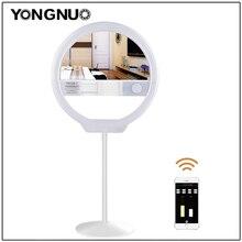YONGNUO YN128 II Светодиодный кольцевой светильник для селфи 3200 K-5500 K с регулируемой яркостью живой поток видео светильник ing для iPhone X Nikon Canon DSLR