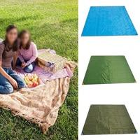 200X220cm Waterproof Outdoor Camping Picnic Beach Mat Camping Tarpaulin Baby Play Mat Plaid Blanket Baby Climb Blanket