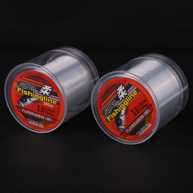 300M 500M Fishing Line Super Strong Japanese 100% Nylon Not Fluorocarbon Fishing Tackle Not linha multifilamento